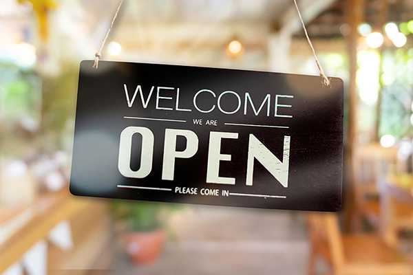 Welcome - We Are Open